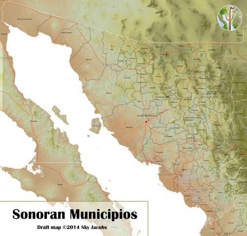 Municipios of Sonora, Mexico