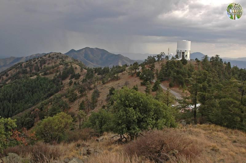 Sierra la Mariquita observatory
