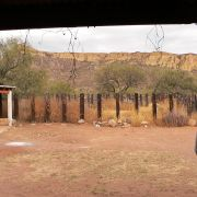 The actual ranch at Cajón del Agua, Sonora
