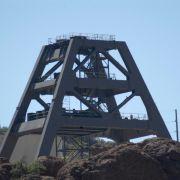 Mining equipment, Devil's Canyon (Gaan Canyon), May 2010