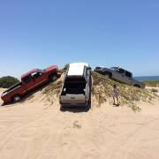 Idiots on dunes