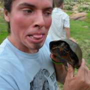Beto and mud turtle