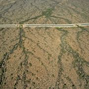 Central Arizona Project canal across Sonoran Desert