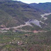 Work on road between Bacadéhuachi and Nácori Chico (2011)
