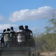 Migrants in pickup truck headed to border