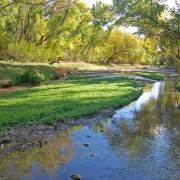 Santa Cruz River at Tubac