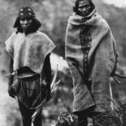 Tarahumara men in 1892, photo by Carl Lumholtz