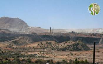 Cananea Mine in operation