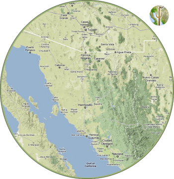 Wild Sonora region