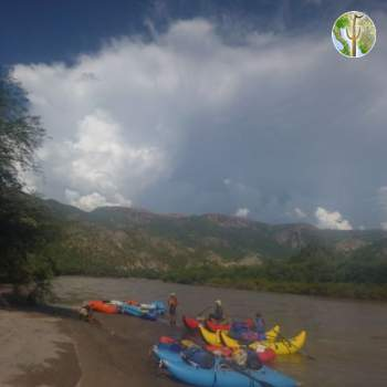 Monsoon season Kayaking