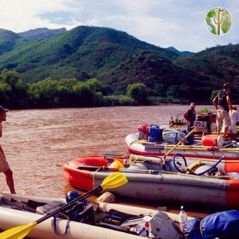 Getting ready to launch, Rio Aros and Yaqui Biological Inventory, 2005