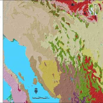 Vegetation Communities of southwestern North America