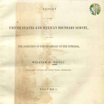 Cover of United States and Mexican Boundary Survey, William Emory, 1857