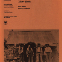 Cover of Land Use History of the San Rafael Valley, Arizona (1540-1960)